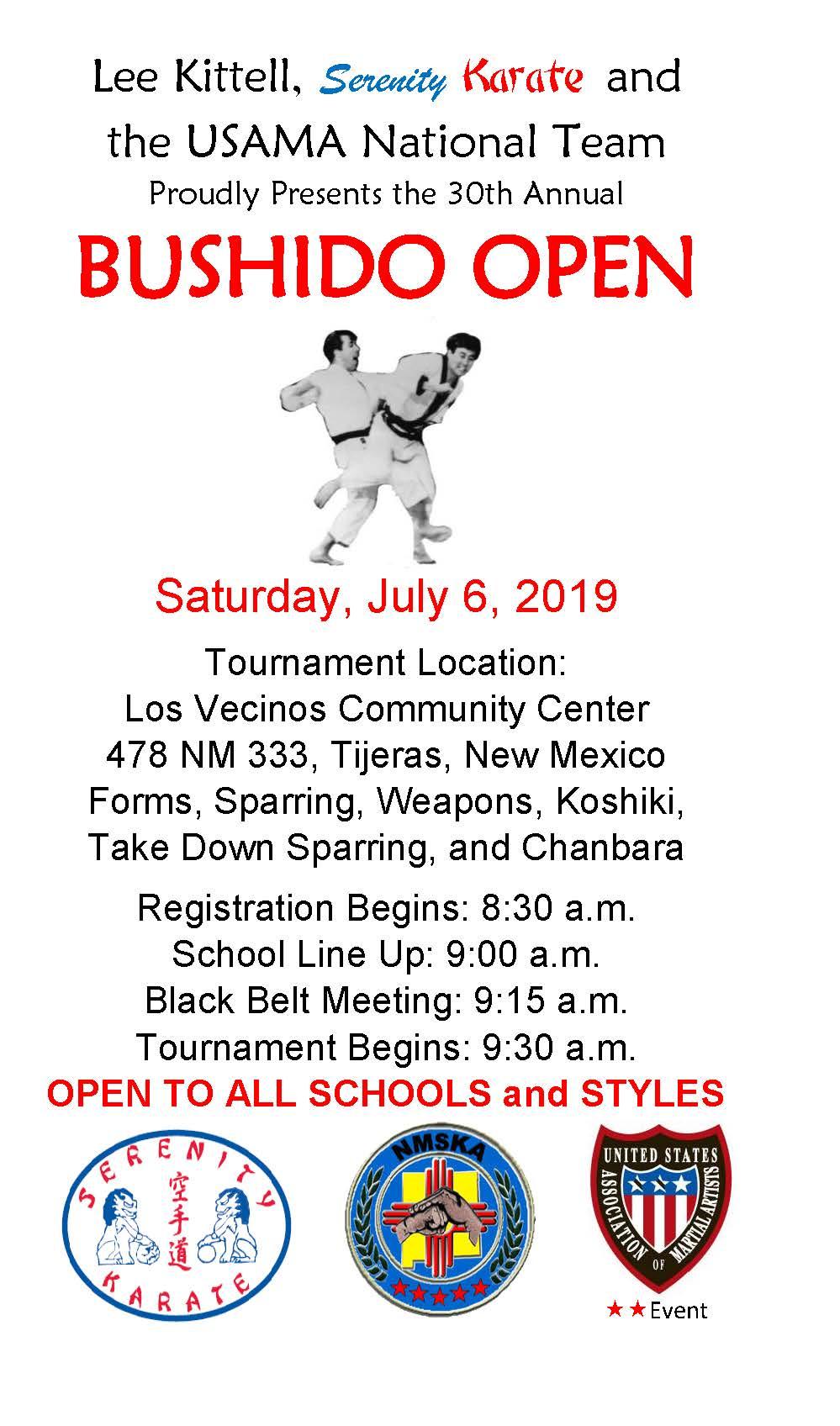 Event Listing - US Association of Martial Artists